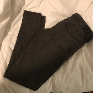 Olive green jegging